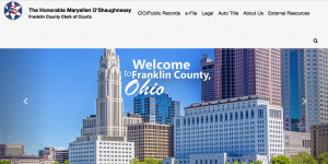 Franklin County Ohio Clerk of Courts site