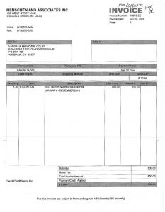 thumbnail of Vandalia Henschen invoice (enhanced scan)