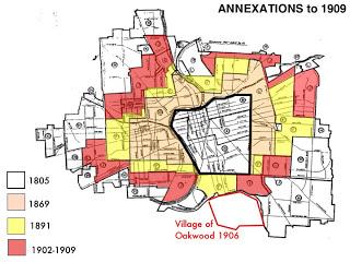 Dayton Annexations 1909