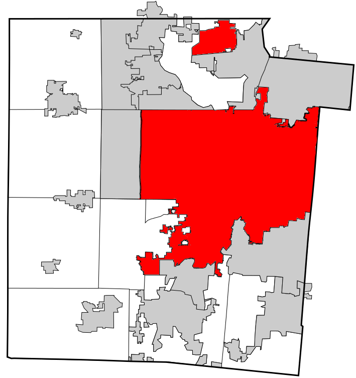 Dayton with Annexations