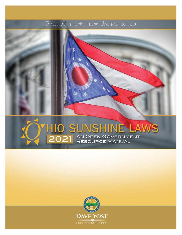 2021 Ohio Sunshine Manual