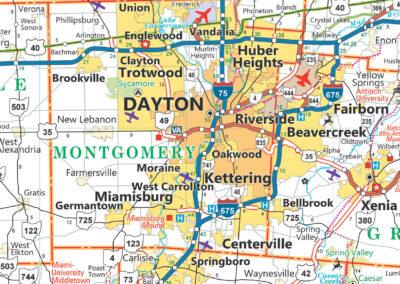 Dayton DOT Map