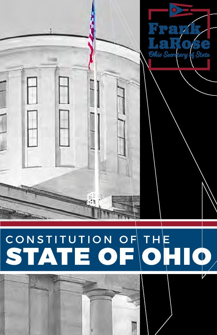 The Ohio State Constitution